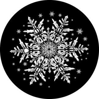 gobo scala di grigio fiocco di neve gobo natalizio
