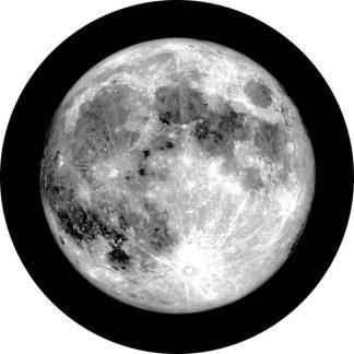 gobo scala di grigio luna natura