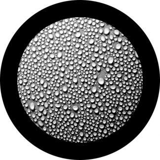 gobo scala di grigio gocce goccioline d'acqua natura