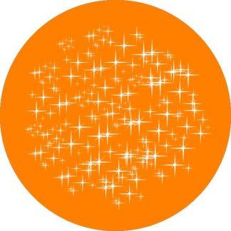 gobo 1 uno un colore luci natalizie di natale gobo natalizio arancione