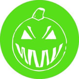 gobo 1un uno colore zucca di halloween verde