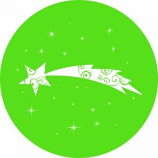 gobo 1 uno un colore stella cometa gobo natalizio verde