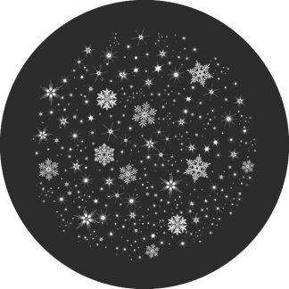 gobo bianco e nero fiocchi di neve gobo natalizio