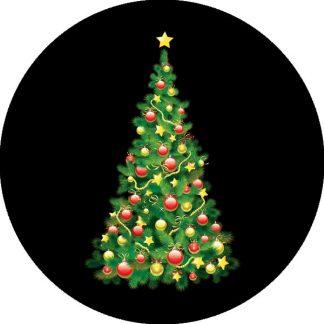 gobo quattro colori tema natalizio albero di natale decorazioni natalizie