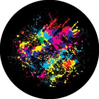 gobo quattro colori vernice colori colorato