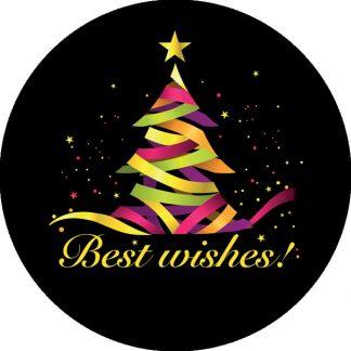 gobo quattro colori tema natalizio albero di natale decorazioni natalizie auguri di buon natale