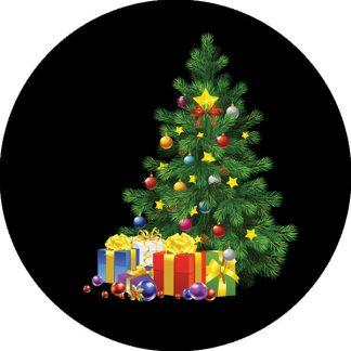 gobo quattro colori tema natalizio albero di natale decorazioni natalizie regali di natale
