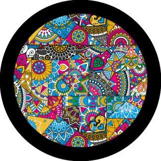 gobo quattro colori chiesa finestre tema religioso rosone mosaico finestra vetro colorato