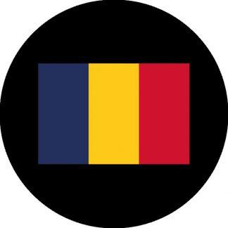 gobo quattro colori bandiera romania rumena
