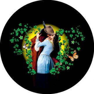 gobo quattro colori bacio hayez arte tema artistico