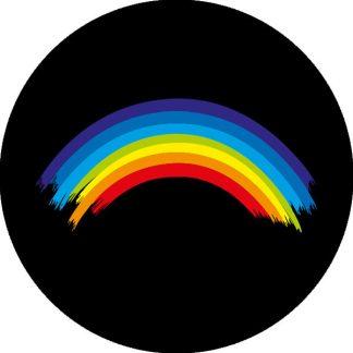 gobo quattro colori arcobaleno andrà tutto bene covid colori colorato