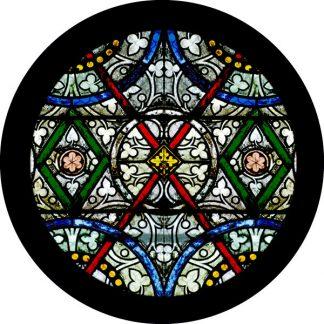 gobo tre colori chiesa finestre tema religioso rosone