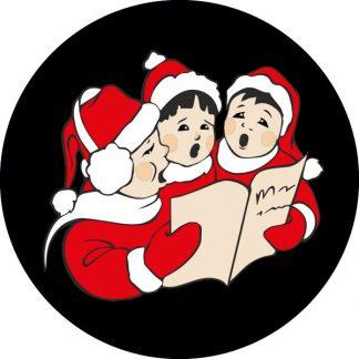 gobo tre colori natale tema natalizio canti natalizi coro bambini