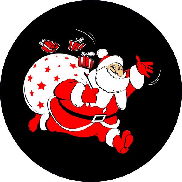 gobo tre colori babbo natale natale tema natalizio neve