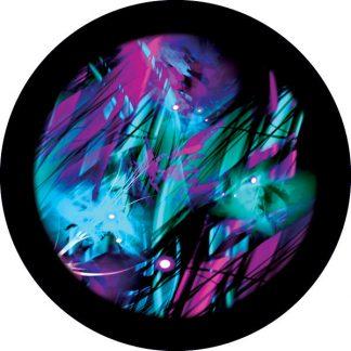 gobo tre colori colorato azzurro magenta rosa
