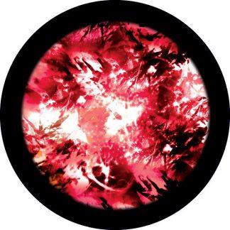 gobo tre colori colorato rosso