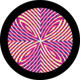 gobo tre colori motivi geometrici