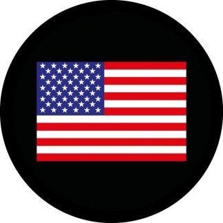 gobo tre colori bandiera americana stelle e strisce rosse e blu USA
