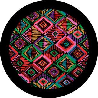 gobo tre colori stoffa tessuto colori colorato