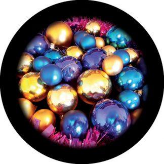 gobo tre colori palle di natale addobbi albero di natale tema natalizio