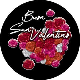 gobo tre colori buon san valentino rose rosse cuore rosso