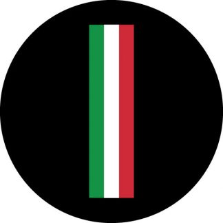gobo tre colori bandiera italiana tricolore italiano verde rosso