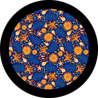 gobo tre colori soggettie stivi conchiglie corallo estate mare
