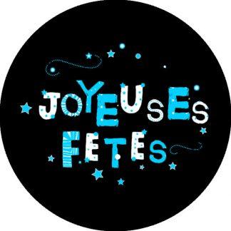 i buon natale tema natalizio auguri azzurro ciano nero in francese