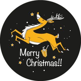 gobo due colori renna natale tema natalizio buon natale