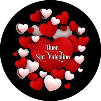 gobo due colori cuori san valentino amore cuore bianco rosso