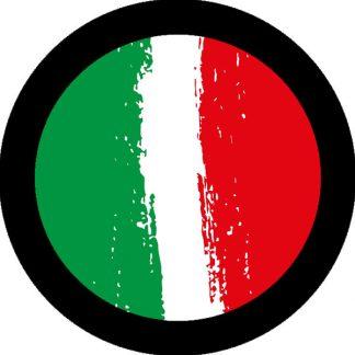 gobo due colori bandiera italiana tricolore rosso verde e bianco