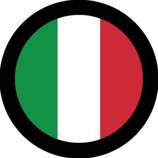 gobo due colori bandiera italiana tricolore italiano verde rosso