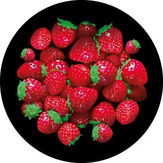 gobo a 3 tre colori tema primaerile fragole rosso