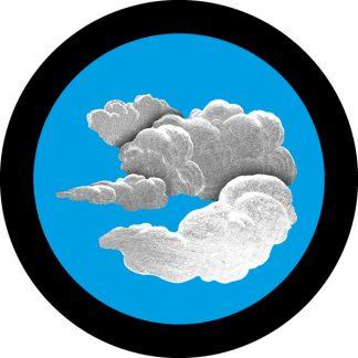 gobo a 2 due colori tema primaverile decorativo nuvole azzurro